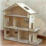 Домик кукольный 3-х этажный – 50 см
