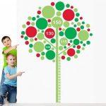 Наклейка – Дерево-ростометр