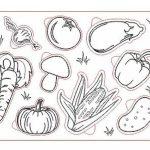 Рамка вкладыш Овощи